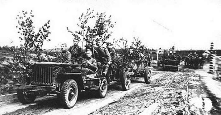 Испытания Willys MB на советском полигоне
