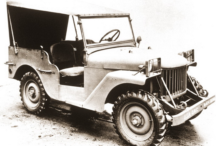 Ранняя модификация - Willys Quad, 1940 г.