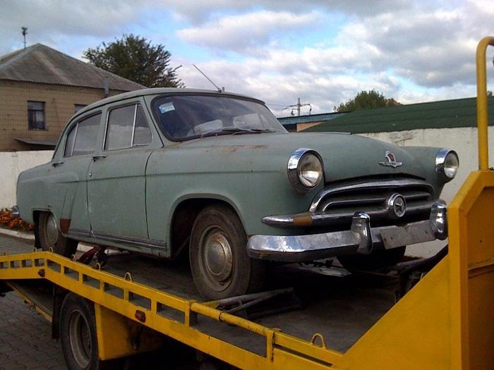 Restoration of the vehicle