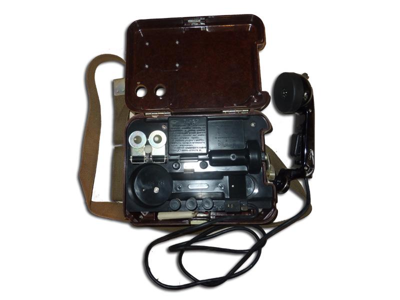 TA-57.  Военный полевой телефон.
