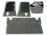 Set of floor mats