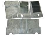 Set of floor mats 1-2 series