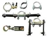 Mounting kit exhaust system