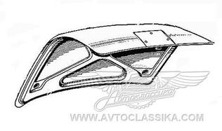Luggage compartment lid, assy