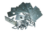 Fasteners of lower moldings GAZ-24 (kit)