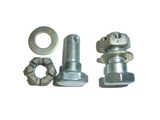 bolt with nut and washer (kit)