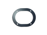 Clamping sealing ring casing floor steering column
