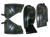 Flaps front and rear fenders assembly, komplekt
