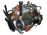 The engine assy (without a gear box)