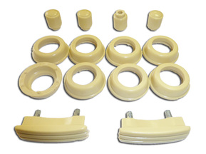 Set of plastic interior parts for Moskvich 400-401