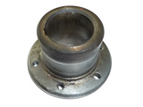Crankshaft pulley nave
