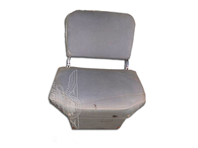 Collapsible seat, assy