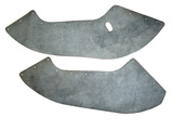 Seal, middle, right & left, front fender mudguard