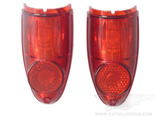 Lens of a tail light  red 403