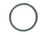 Cover gasket of the oil filter of thin clearing