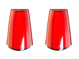 Lens of a tail light and the turn indicator 1 series