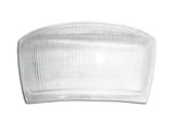 Glass white a tail light