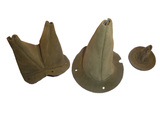 Leather Gear Shift Covers kit (od green)